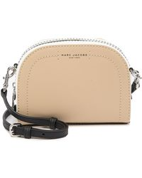 8fa3e04f1 Marc Jacobs - Playback Colorblocked Leather Crossbody Bag - Lyst