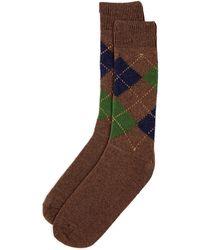 Punto - Argyle Socks - Lyst