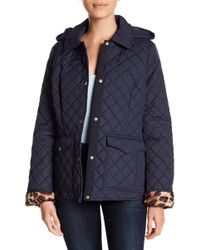 Laundry by Shelli Segal - Barn Quilt Hooded Jacket - Lyst