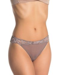 Felina Sophia Lace Thong - Multicolour