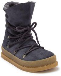 Birkenstock Masi Genuine Shearling Boot - Discontinued - Grey
