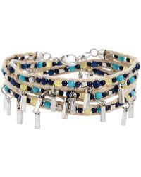 Treasure & Bond - Beaded Wrap Bracelet - Lyst