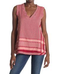 Cecilie Copenhagen V-neck Shirt - Red