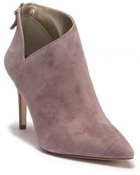 Enzo Angiolini - Ruthely Suede Bootie - Lyst