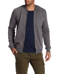 Lindbergh - Quilted Zip Cardigan - Lyst