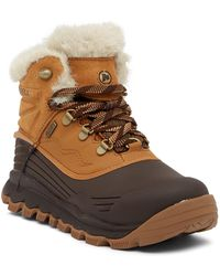 Merrell - Thermo Vortex 6 Faux Fur Trimmed Waterproof Boot - Lyst
