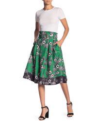 Jealous Tomato Floral Print Skirt - Green