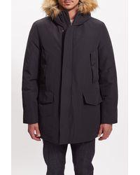 Baldwin Denim Morell Faux Fur Trimmed Hooded Parka - Multicolor