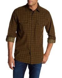 Pendleton - Cord Fairbanks Plaid Regular Fit Shirt - Lyst
