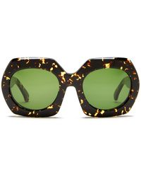 Steven Alan - Women's Montague Oversized Geometric Square Sunglasses - Lyst