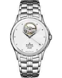 EDOX Watches - Women's Grand Ocean Open Vision Swiss Automatic Bracelet Watch, 33mm - Lyst
