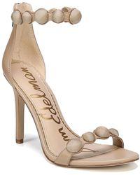 20c42890c38f Hot Sam Edelman - Sam Edelmen Addison Embellished Ankle Strap Sandal - Lyst