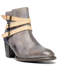 Bed Stu - Ankle Buckle Bootie - Lyst