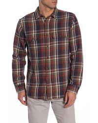 Tailor Vintage - Reversible Plaid Casual Fit Shirt - Lyst