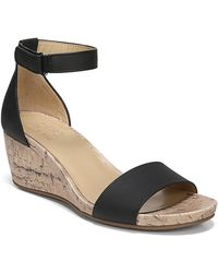 Naturalizer Areda Wedge Sandal - Wide Width Available - Black