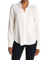Rails Bonnie Striped Shirt - White