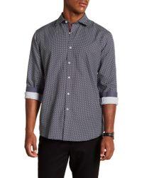 Bugatchi - Microdot Long Sleeve Classic Fit Shirt - Lyst