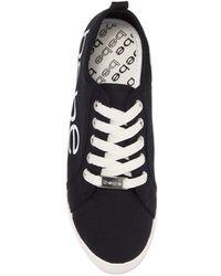 Bebe Destini Platform Sneaker - Black