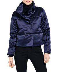 Ayr - The Snowdrift Crop Jacket - Lyst