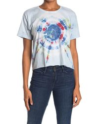 The Laundry Room Classic Crop Lounge T-shirt - Blue