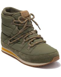 Teva Ember Lace-up Winter Bootie - Green