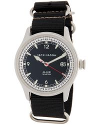 Jack Mason Brand - Men's Nautical Nato Nylon Strap Watch - Lyst