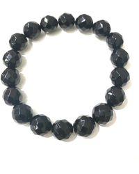 Charlene K Onyx Gemstone Bracelet - Black