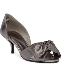 Pelle Moda - Alera Metallic D'orsay Sandal - Lyst