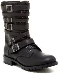 Nasty Gal | Lace-up Buckle Boot | Lyst