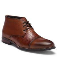 Hart Schaffner Marx Lauderdale Leather Chukka Boot - Brown