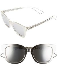 Dior - 52mm Ama Sunglasses - Lyst