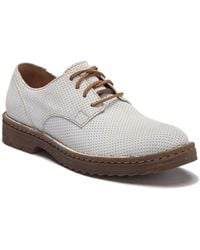 Born - Samson Perforated Leather Derby - Lyst