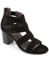 David Tate Francis Strappy Sandal - Black