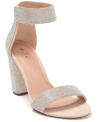 Call It Spring Walheim Embellished Block Heel Sandal - Multicolor