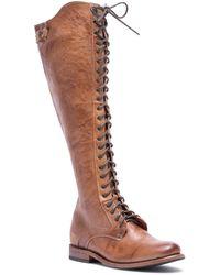 Bed Stu Della Lace-up Boot - Brown