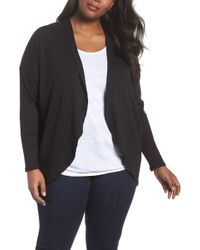 Sejour | Ribbed Cocoon Cardigan | Lyst