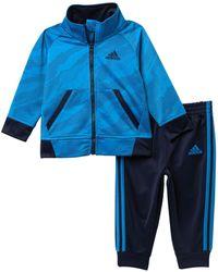 adidas - Camo Tricot Jacket & Pants Set (baby Boys) - Lyst