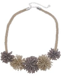 BaubleBar - Riviera Beaded Statement Necklace - Lyst