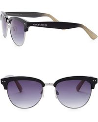 Vince Camuto - Women's Clubmaster 55mm Metal Frame Sunglasses - Lyst