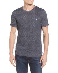 Ted Baker - Giovani Modern Slim Fit Print T-shirt - Lyst