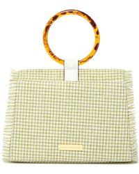 Christian Siriano Debra Top Handle Clutch - Multicolour