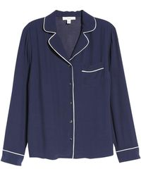 1901 - Relaxed Button Up Shirt (regular & Petite) - Lyst