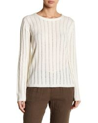 Fate - Crew Neck Knit Sweater - Lyst