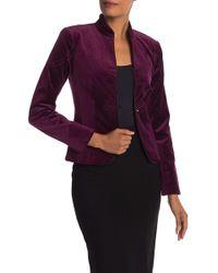 Trina Turk - Peony Front Button Jacket - Lyst