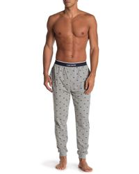 Lacoste Printed Lounge Sweatpants - Grey