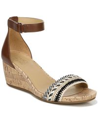 Naturalizer Areda Wedge Sandal - Wide Width Available - Multicolour