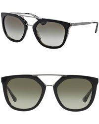 Prada - Women's 54mm Irregular Cat Walk Cinema Sunglasses - Lyst