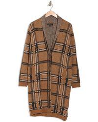 Joseph A Shawl Collar Button Down Coat - Brown