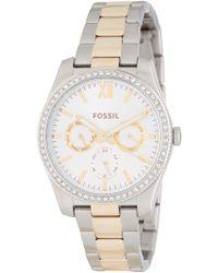 Fossil - Women's Scarlette Bracelet Watch, 38mm - Lyst