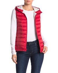 Lolë Rose Hooded Down Puffer Vest - Multicolour